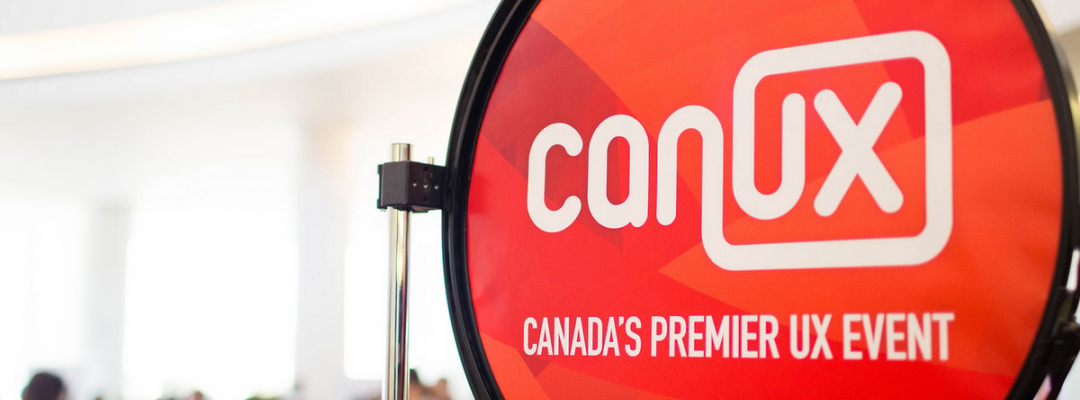 Save the Date: CanUX 2017 will take place Nov 3-5