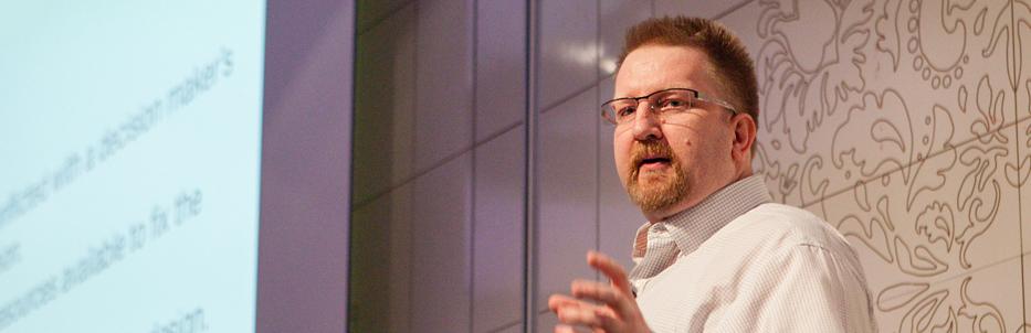 London's Ian Fenn will demystify UX portfolios